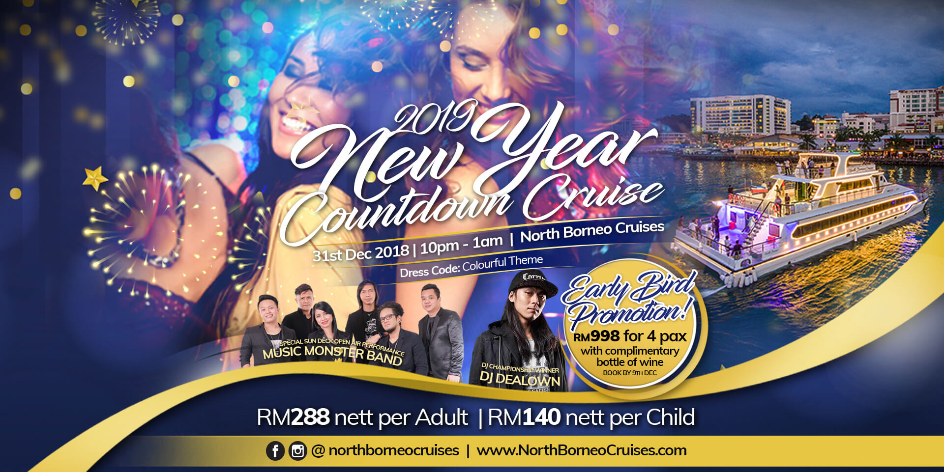 2019 New Year Countdown Cruise