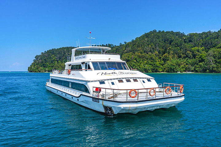 Morning Cruising at North Borneo Cruises