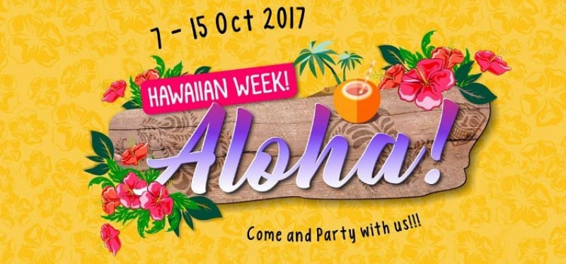 Hawaiian Week On Board